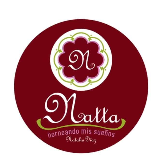 logotipo de marca de repostería