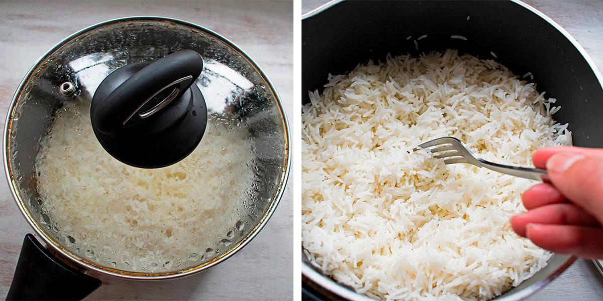 como cocinar arroz