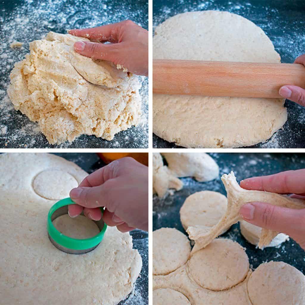 receta paso a paso para preparar panecillos