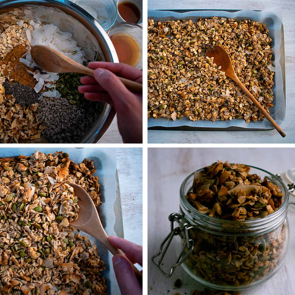 como preparar granola paso a paso