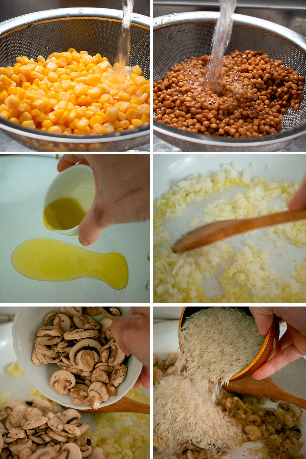 cómo preparar arroz pilaf receta paso a paso