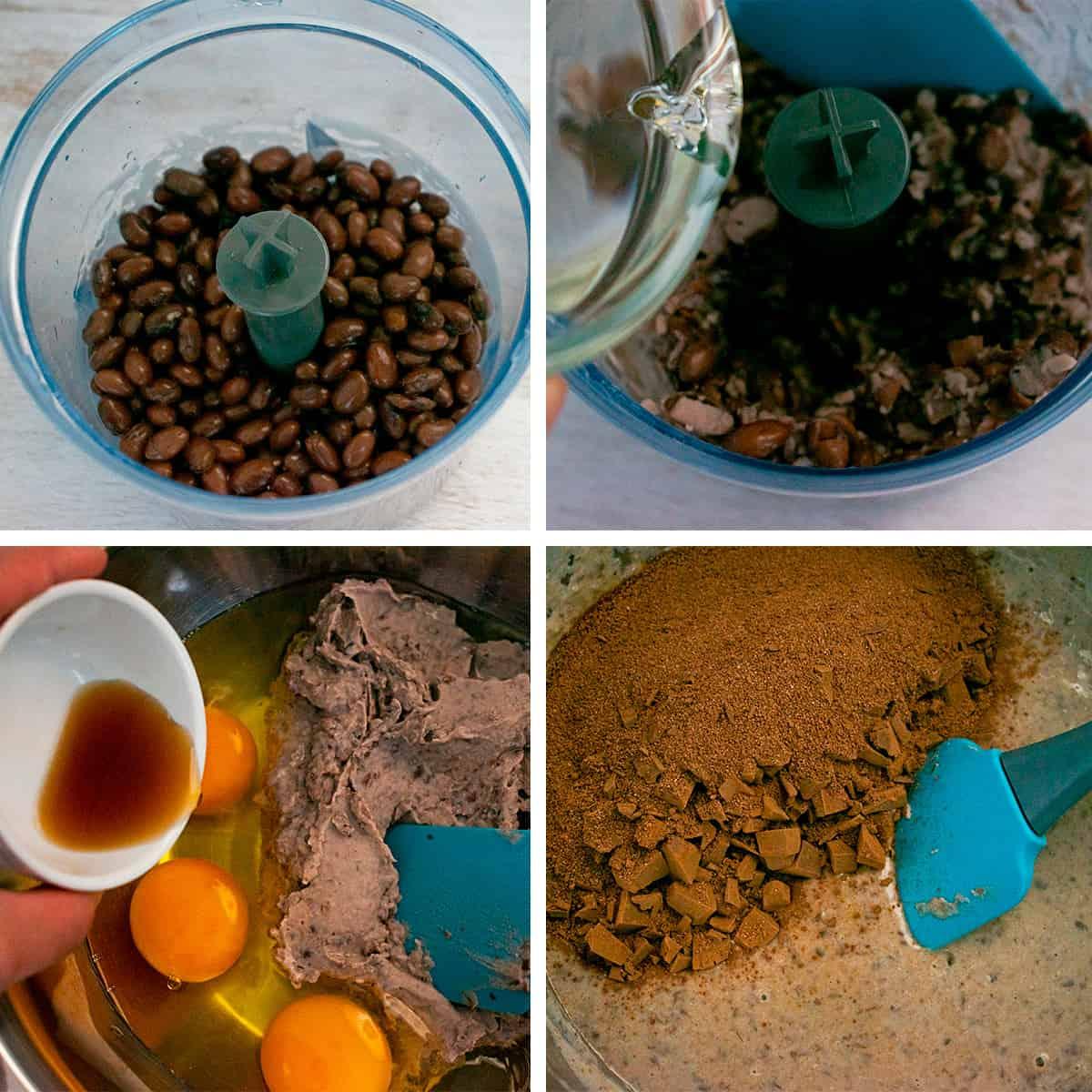 Receta paso a paso para preparar brownies